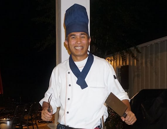 Hibachi chef commended for generous act