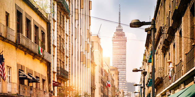 Vista a la Torre Latinoamericana