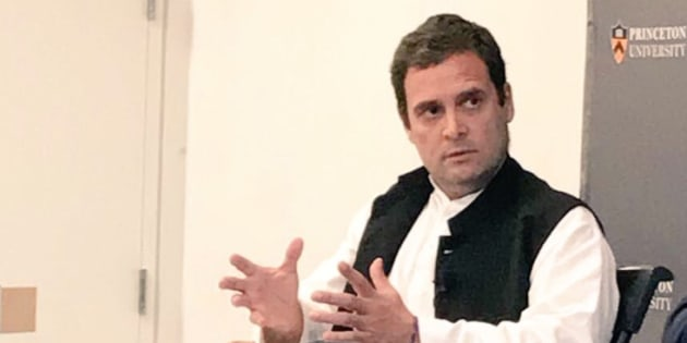 Image result for India has to compete with China, not doing that well: Rahul