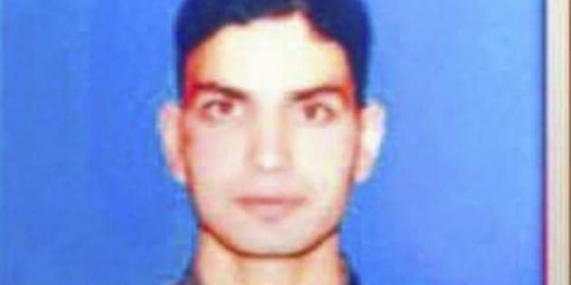File photo of Lt Ummer Fayaz.