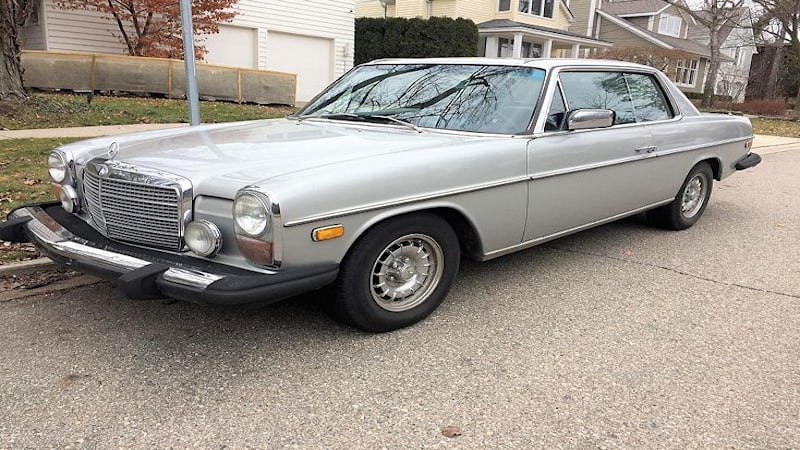 Autoblog Classifieds Finds: 1975 Mercedes-Benz 280C