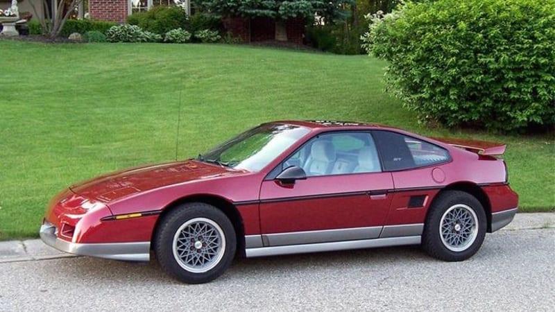 Autoblog Classifieds Finds 1987 Pontiac Fiero GT