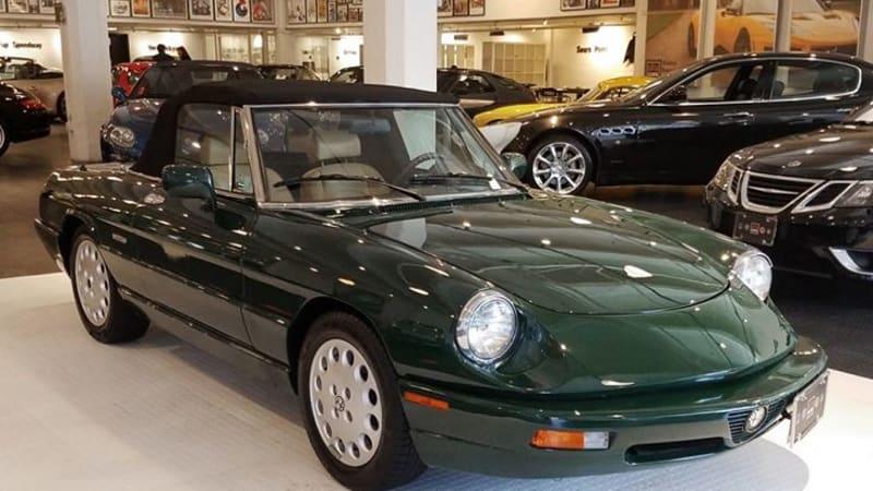 Sell Your Own Alfa Romeo Spider Autoblog - 1991 alfa romeo spider for sale
