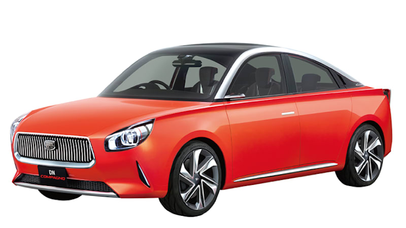 photo image Daihatsu Compagno concept makes us wish the company was still in America