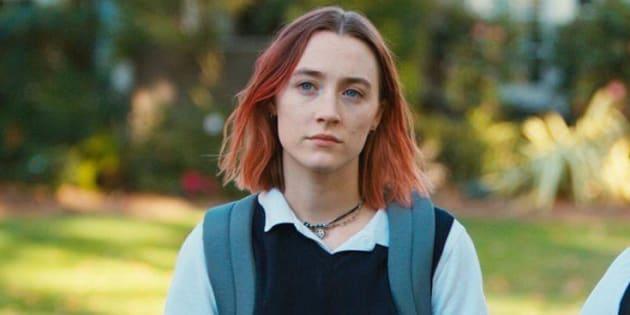 """Saoirse Ronan dans """"Lady Bird"""", nommée aux Oscars dans la catégorie """"Meilleure actrice dans une comédie""""."""