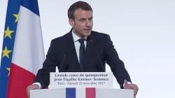 Macron a pris position sur l'âge auquel il faut fixer le consentement