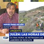 El alcalde de Totalán, tras su última intervención en 'Espejo Público':