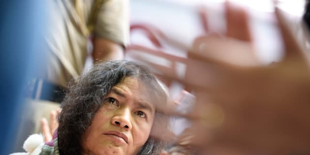 Manipur activist Irom Sharmila.