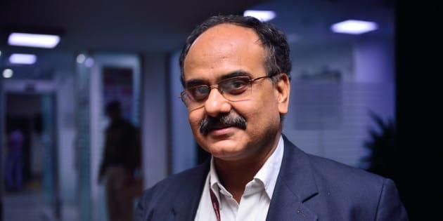 Ajay Bhushan Pandey, CEO of UIDAI.