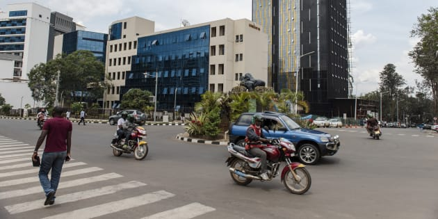 Centre ville de Kigali, Rwanda