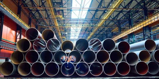 Trump impuso en marzo un gravamen del 25% a las importaciones de acero.