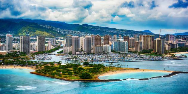 La capitale d'Hawaï, Honolulu (photo d'illustration).