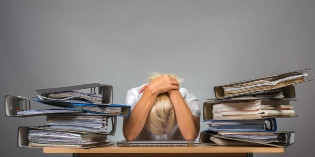 52% des Français victimes de stress — Santé au travail