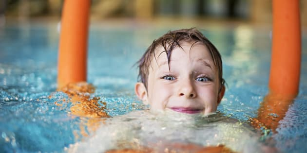 Kids can get really sick from swimming pools thanks to - Why eyes get red in swimming pool ...