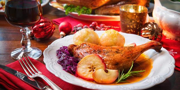 O peru de Natal é um dos principais pratos da ceia.