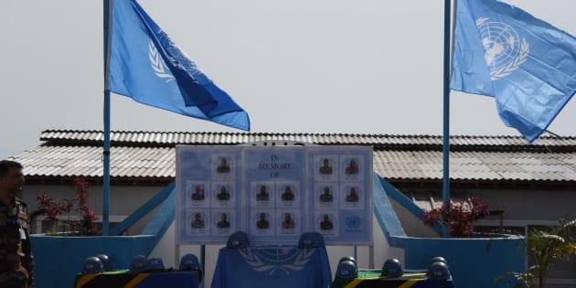 MONUSCO rinde homenaje a los cascos azules tanzanos caídos