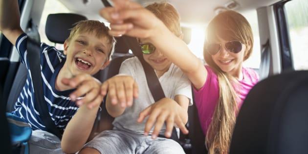 Quand faire des longs trajets en voiture avec des enfants se transforme en voyage au bout de l'enfer.