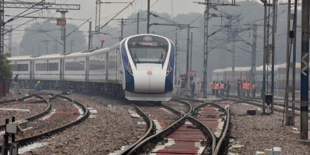 Le Vande Bharat Express.