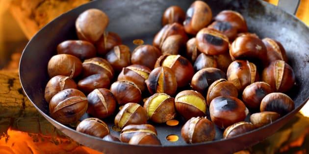 Chataigne Image pour cuisiner les châtaignes que vous venez de ramasser, voici des
