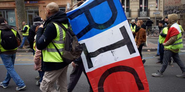 Philippe promet un débat sur le référendum d'initiative citoyenne (photo prise à Toulouse le 15 décembre)