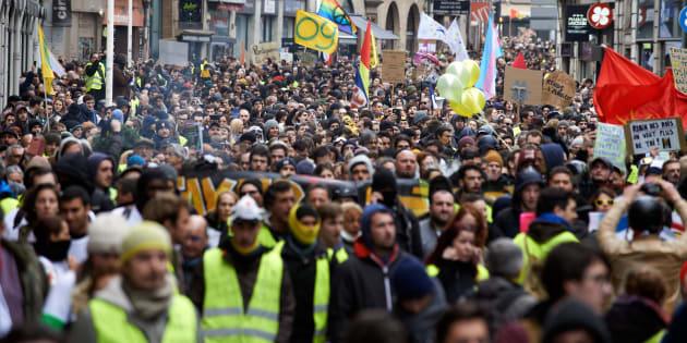 Tours, épicentre régional de l'acte XII des gilets jaunes samedi 2 février