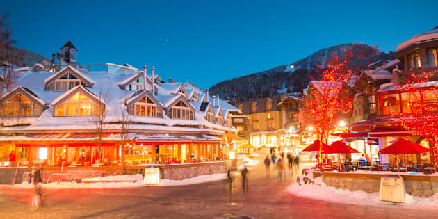 Whistler is the priciest place to spend New Year's Eve in Canada, according to a survey by CheapHotels.com.