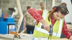 De plus en plus de femmes dans la construction... mais les progrès restent