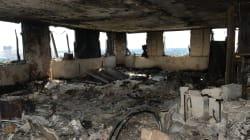 Les images glaçantes des dégâts causés par l'incendie de la tour Grenfell de