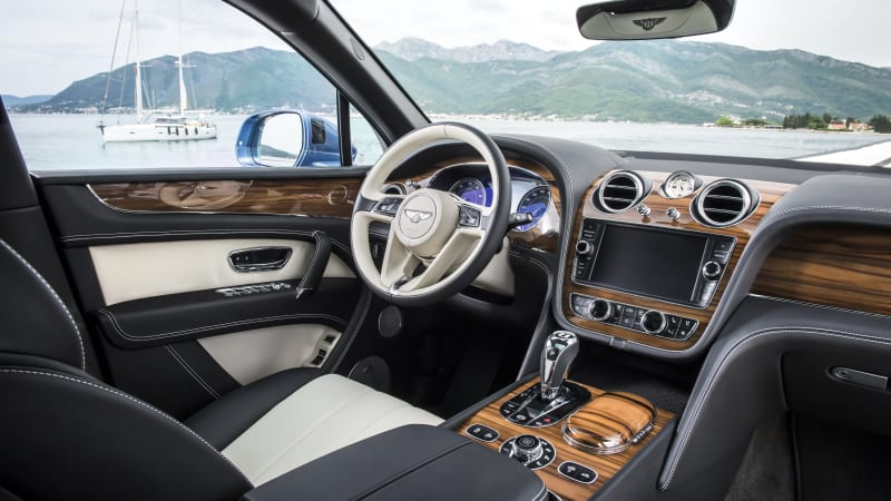 New Bentley interior veneer sourced from American Red Gum trees