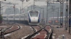 Le train le plus rapide de l'Inde heurte une vache, à peine