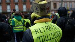 Gilets jaunes et CGT ensemble dans la rue pour la