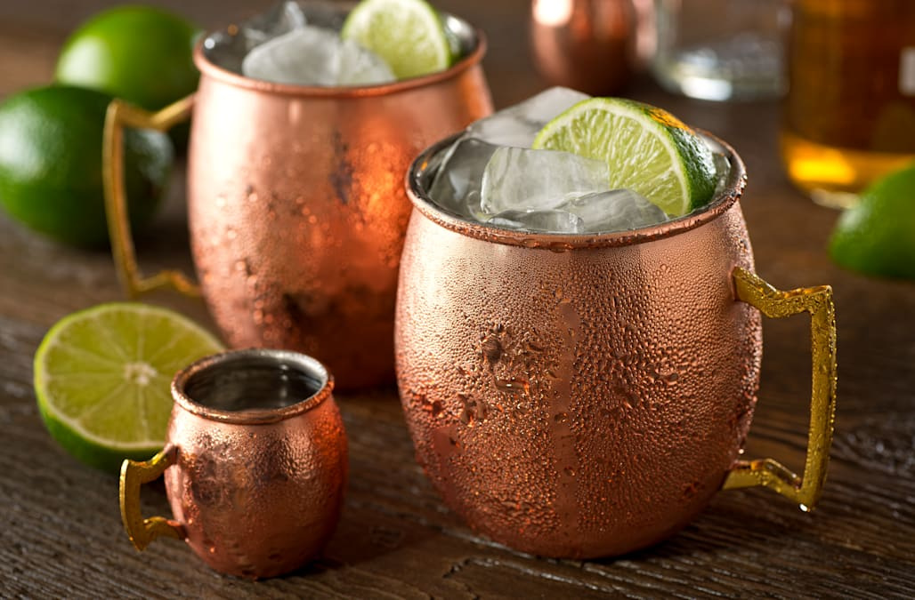 moscow mules served in copper mugs may be poisonous aol lifestyle. Black Bedroom Furniture Sets. Home Design Ideas