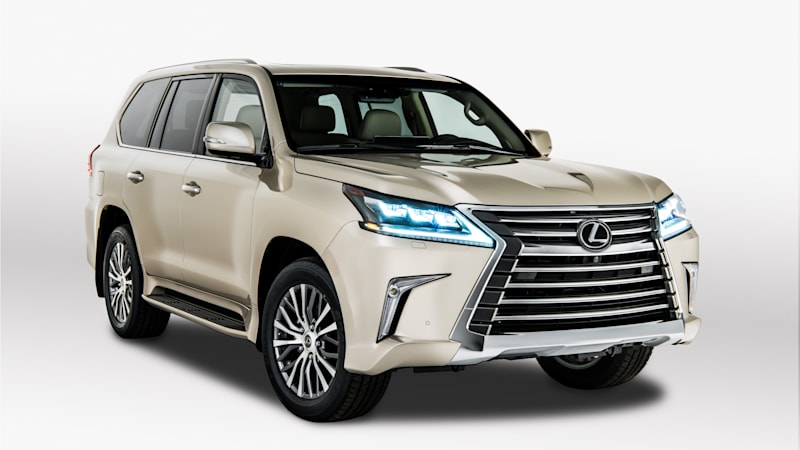 New Lexus LX boosts cargo space by 15%