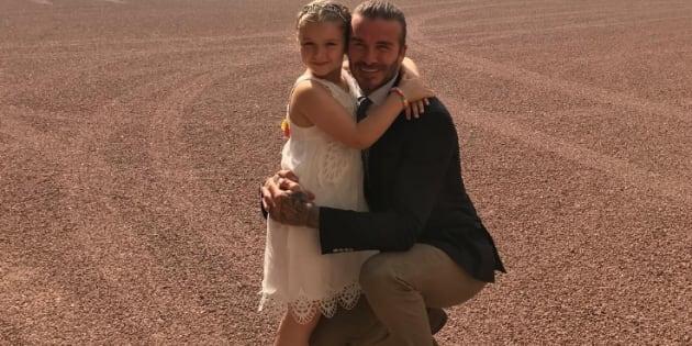 Harper Beckham celebra su cumpleaños en el palacio de Buckingham