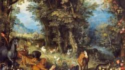 BLOGUE À la recherche du jardin d'Éden: un jardin d'Éden allégorique, l'arbre de la