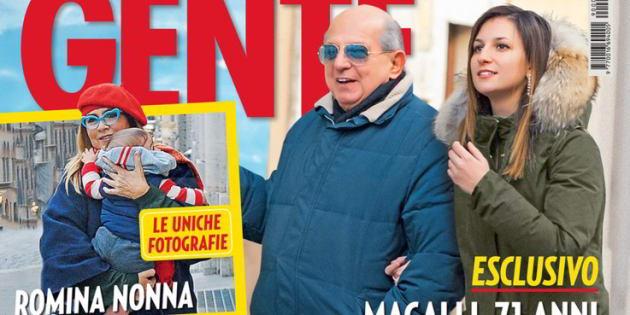 Giancarlo Magalli ha trovato l'amore? Accanto a lui c'è la 22enne Giada
