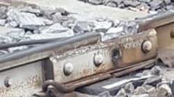 Treno deragliato, ecco la foto del punto in cui la rotaia ha