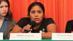 Obtilia Eugenio, activista indígena, desapareció en tierra de falsas