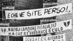 Trent'anni fa Napoli e il Napoli facevano la