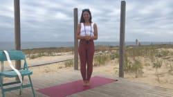 BLOG - Les postures de yoga de Natasha St-Pier pour voyager