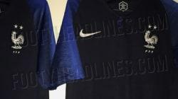 Le premier visuel du maillot de l'équipe de France avec deux étoiles a