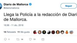 La policía requisa los teléfonos de dos periodistas de Europa Press y 'Diario de