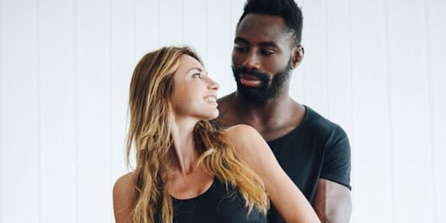 Ariane Brodier et son compagnon Fulgence Ouedraogo