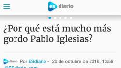 La aplaudida respuesta de Pablo Iglesias a este titular llamándole