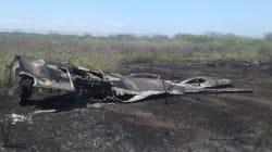 Cae avión de la Fuerza Aérea en Ixtepec,