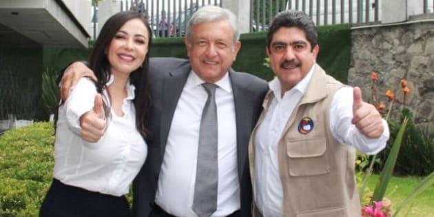 Manuel Espino y Andrés Manuel López Obrador.