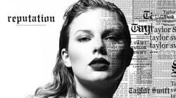 Internet se moque déjà de la couverture du nouvel album de Taylor