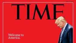 La demoledora portada de 'Time' que enfrenta a Trump con una niña