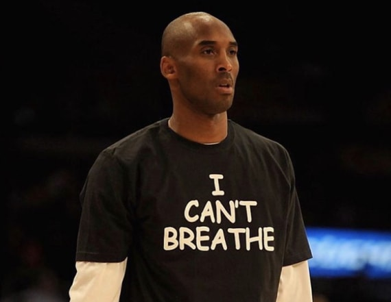 Kobe's widow shares his 'I can't breathe' moment