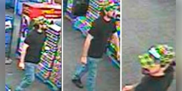 Police in Collingwood, Ont. are asking for the public's help in identifying this man.